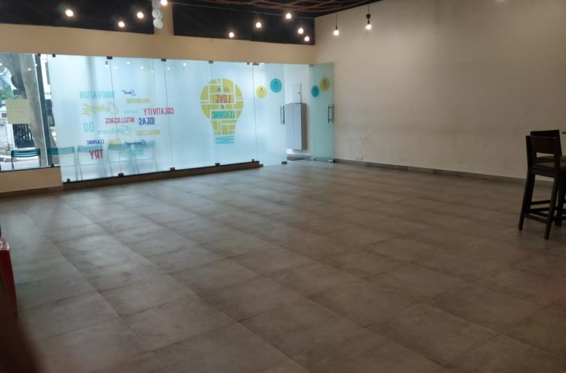 Retail space on rent